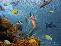 Mermaid Time Fine-Art Print