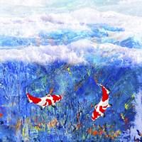 Red Twin Fish Fine-Art Print