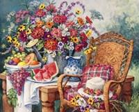 A Summers Picnic Fine-Art Print