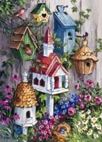 Birdhouse Cottage Fine-Art Print