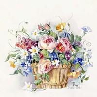Rose Basket Fine-Art Print