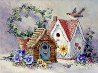 Birdhouse Collection 1 Fine-Art Print