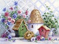 Garden Nesting Fine-Art Print