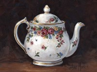Mixed Blossom Teapot Fine-Art Print