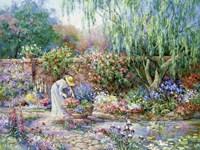 Her Garden Fine-Art Print