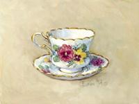 Pansy Teacup Fine-Art Print