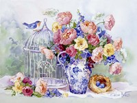 Blue Bird Sonata Fine-Art Print