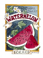 Sugar Sweet Watermelon Fine-Art Print