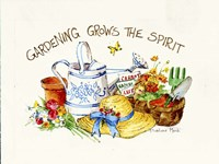 Gardening Grows Fine-Art Print
