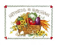 Happiness is Homegrown Fine-Art Print