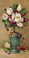 Magnolia Cluster Topiary I Fine-Art Print