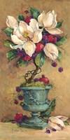 Magnolia Cluster Topiary 2 Fine-Art Print