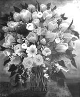 Black and White Bouquet Fine-Art Print