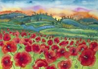 Magical Poppy Field Fine-Art Print