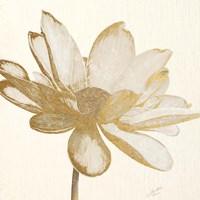Vintage Lotus Cream I Fine-Art Print