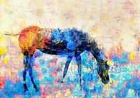 Mondrian Horse Fine-Art Print
