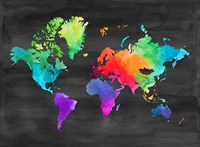 Map of Many Colors Fine-Art Print