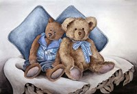 Blue Bears Fine-Art Print