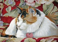 Callie the Calico Cat Fine-Art Print