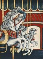 Carousel Race Fine-Art Print