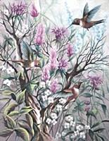 Hummingbird Tapestry Fine-Art Print