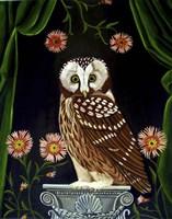 Owl Guardian Print Fine-Art Print