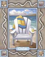 Beach Chair Calm Fine-Art Print