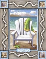 Beach Chair Relax Fine-Art Print