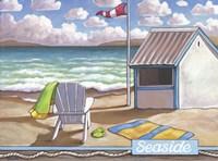 Seaside Beach Fine-Art Print