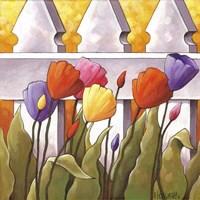 Flower Fence 1 Fine-Art Print
