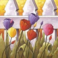 Flower Fence 2 Fine-Art Print