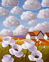 Flowers & Clouds Fine-Art Print