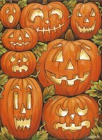 Jack O Lanterns Fine-Art Print