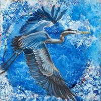 Blue Heron Fine-Art Print