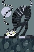 Moonlight Cat Fine-Art Print