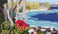 Tropical Bay 1 Fine-Art Print