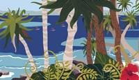 Tropical Bay 2 Fine-Art Print
