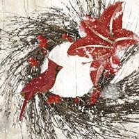 Cardinal Christmas I Fine-Art Print
