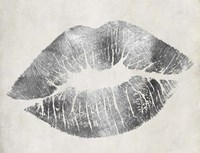 Hollywood Kiss Silver Fine-Art Print