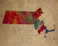 MA Colorful Counties Fine-Art Print
