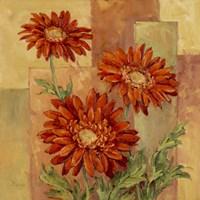 Terracotta Daisies Fine-Art Print