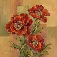 Terracotta Poppies Fine-Art Print