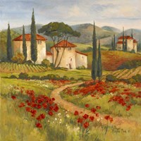 Tuscan Dream I Framed Print