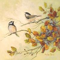 Birds of Autumn I Fine-Art Print
