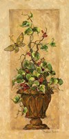 Topiary with Butterfly Fine-Art Print