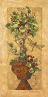 Topiary with Dragonfly Fine-Art Print