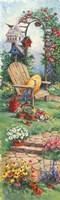 Spring Garden Panel I Fine-Art Print