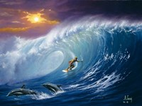 Catching the Wave Fine-Art Print