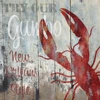 New Orleans Seafood I Fine-Art Print