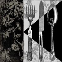 Dinner Conversation I Fine-Art Print